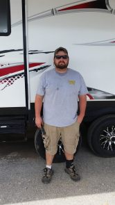 Certified RV Technician, Nick, is our Shop Manager, making sure that everything is running smoothly on your RV.